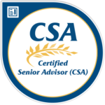 The Society of Certified Senior Advisors (SCSA) logo